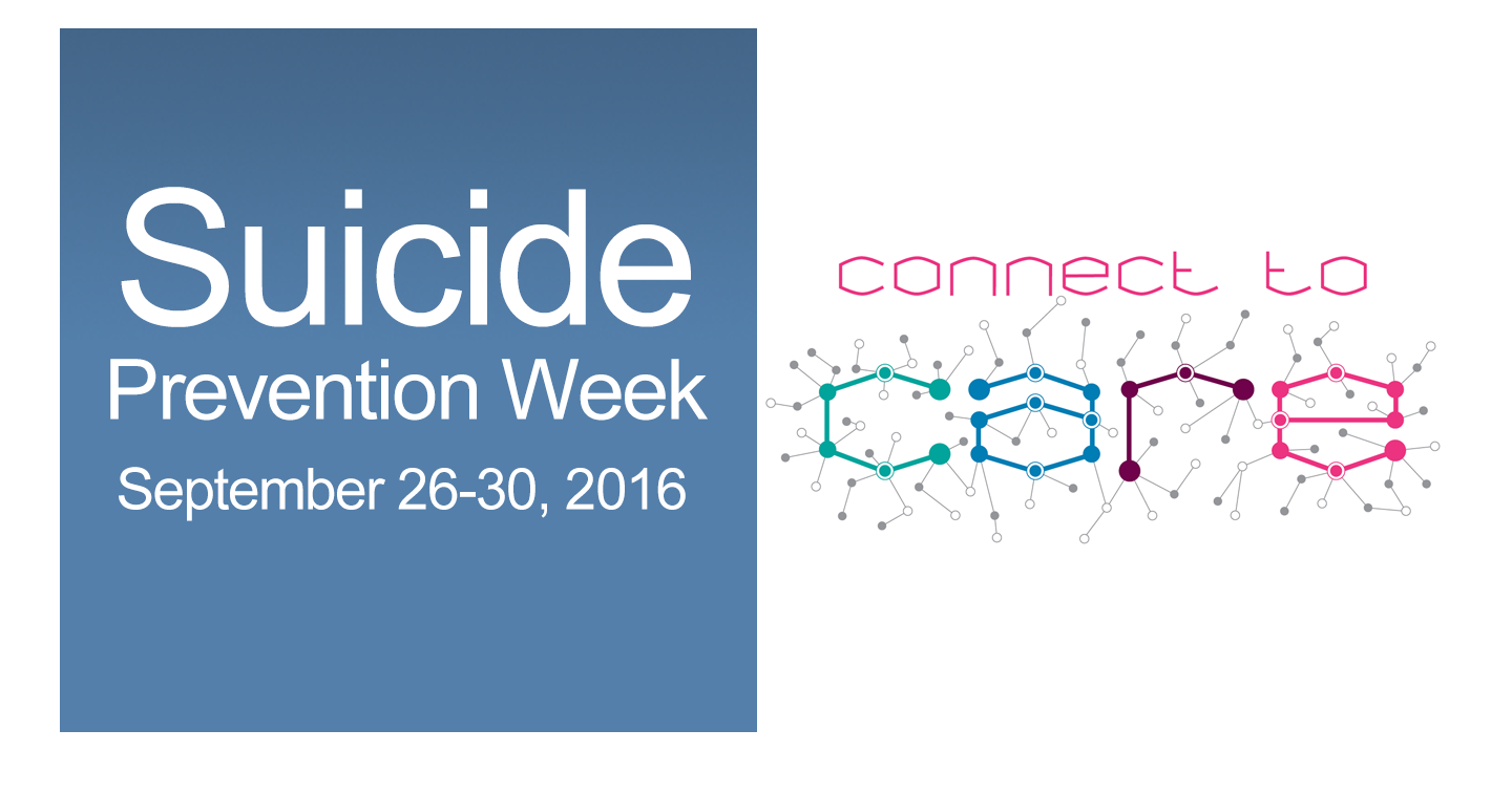 CMHC suicide prevention week september 26-30